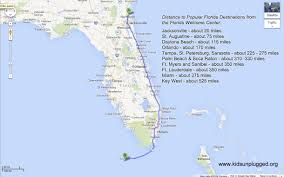 Clearwater Beach Florida Map by Driving From New York To Florida U2013 A Step By Step Itinerary Kids