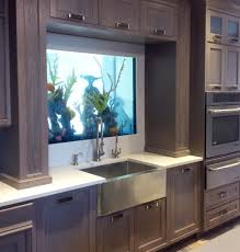 uncategories aquarium kitchen island counter fish tank bright