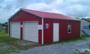 pine creek 24x26 steel garage shed sheds barn barns in martinsburg