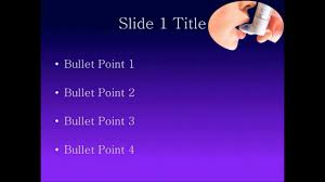 asthma powerpoint template free download youtube
