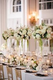 Wedding Decoration Home Wedding Centerpieces Tulips And Hydrangeas Loversiq