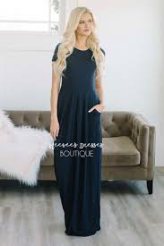 navy maxi dress navy maxi modest pockets best and affordable modest