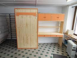 bureau relevable lit relevable en 90x190 avec bureau sur mesure vercors literie