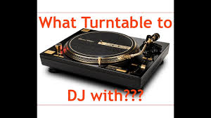 dj table for beginners what beginner ish dj turntable to get 2017 youtube