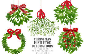 where to buy mistletoe mistletoe christmas clip illustrations creative market