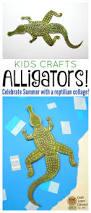 alligator kids craft