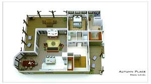 small house floor plans small house plans with basement small cottage floor plan rendering