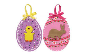 foam easter eggs crafts foam decorated easter eggs a c
