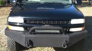 nissan pathfinder winch bumper 2003 chevy tahoe z71 custom bumpers rock sliders roof rack