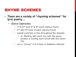 poetry unit 12 cp english lyric poem activity 1 identify if there
