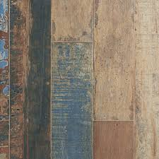 luck brown wood plank porcelain tile 8in x 45in 100085547
