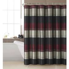 Gray And Red Curtains Buy Red Curtains Showers From Bed Bath U0026 Beyond