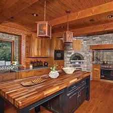 hybrid kitchens photos timber and log home kitchens and dining rooms