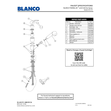 blanco 441210 torino jr anthracite pullout spray kitchen faucets