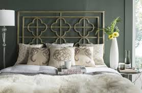 lucina french silver metal headboard headboards furniture by