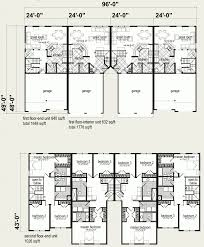 Multi Family Plans by Modular Homes Multi Family Jackson 4 Plex