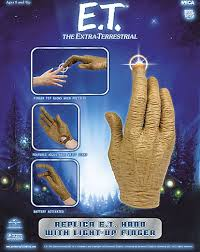 E T Hand With Light Up Finger