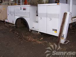 Utility Bed Trailer Altec Loose Boom And Utility Bed 3107