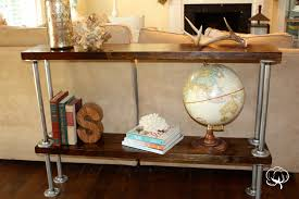 Diy Sofa Table Ideas Entrance Way Sofa Table U2026how To Life In High Cotton