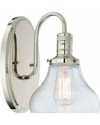 Edison Bulb Wall Sconce Check Out These Bargains On Berton Wall Sconce Clear Blown Glass