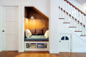 small bookshelf ideas small bookshelf under reading nook under stairs with white and