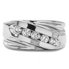 mens wedding band designers twobirch designer men s fashion ring or cool mens wedding band in