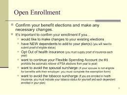 Open Enrollment Email Template open enrollment presentation 2014