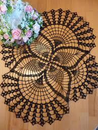 halloween lace tablecloth crochet doilylace table clothhalloweenblack crochet