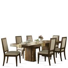 Dining Room Table Modern Dining Room Dining Sets Riverside Furniture Modern Gatherings