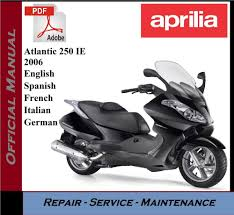 aprilia atlantic 250 ie 2006 workshop service repair manual ebay