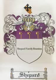 shepard family crest shepard family reunion