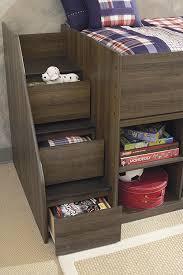 b251 13l 17 19 68t b100 11 juararo twin loft bed with left storage
