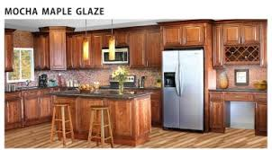 Maple Cabinets With Mocha Glaze Wholesale Kitchen Cabinets Online Contemporary Discount Cheap