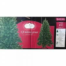 Christmas Tree Shopping Tips - trim a home trim a home 6ft dakota spruce christmas tree 1 6 ft