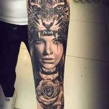 tiger sleeve for