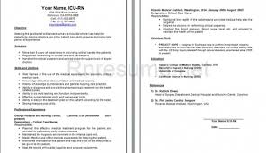 Experienced Nursing Resume Examples New Registered Nurse Resume Examples I16gif 789 Experienced Nurse
