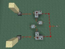 switch between multiple outputs with a one button redstone relay