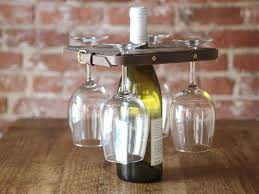 beautiful wine bottle and glass holder pattern 94 with additional