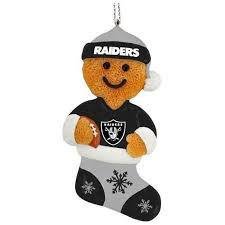 buy nfl oakland raiders ornament set in cheap price on