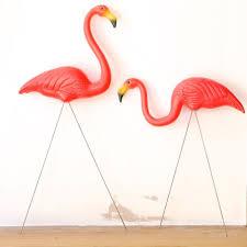 kitsch flamingo lawn ornaments at beadesaurus free uk shipping