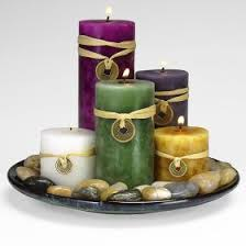 feng shui candle set thegloss