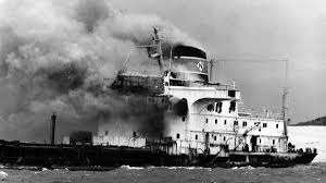 sygna all hell broke loose then so did the ship newcastle herald