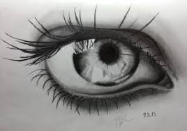 pencil sketches of eyes how to draw an eye in pencil step step