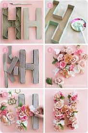 Letter Decorations For Nursery Floral Letter Floral Initial Nursery Letter Flower Letter