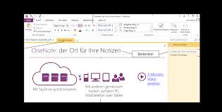 schulungsunterlagen microsoft onenote 2013 kurzanleitung