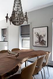 ideas traditional dining room design with rustic dining table and