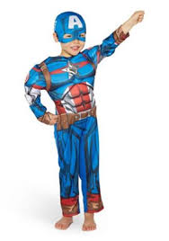 buy marvel captain america light up fancy dress costume from our