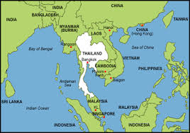 South East Asia Map Thailand Map Asia Mexico Map