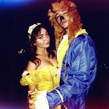 sarah hyland u0026 matt prokop as beauty u0026 the beast celebrity