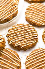 healthy pumpkin spice latte oatmeal cookies amy u0027s healthy baking